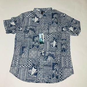 Reyn Spooner Mens Hawaian Shirt Size 2XL Tapa New